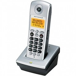 Motorola E51 MD7101821 5.8 GHz Single Line Cordless Phone
