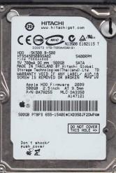 Hitachi 500 GB SATA 2.5'' Laptop Internal HDD HTS545050B9SA02